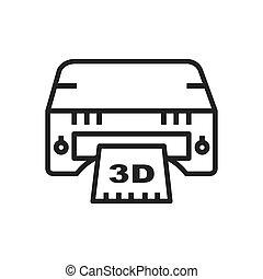 Icono impreso 3D