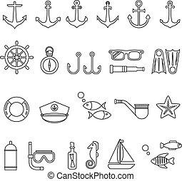 Icono marino