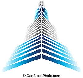 icono, rascacielos
