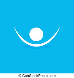 icono símbolo humano