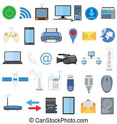Icono tecnológico