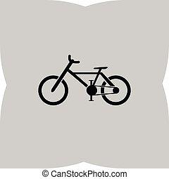 Icono vector de bicicleta