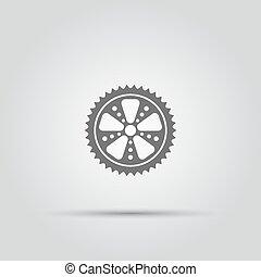 icono vector de vectores aislado