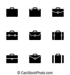 Icono Vector maletín