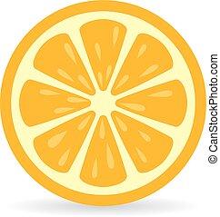 Icono vector naranja