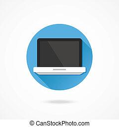 Icono Vector portátil