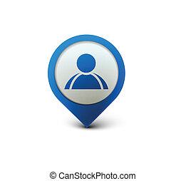 icono web de usuario