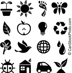 iconos, ambiental