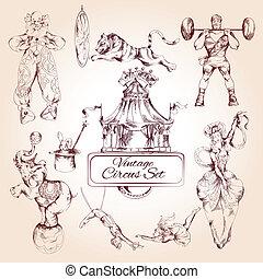Iconos antiguos del circo