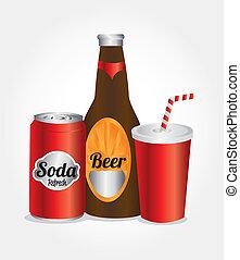iconos, bebidas