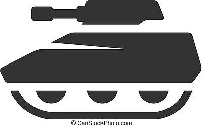 iconos BW - tanque
