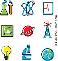 iconos científicos