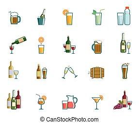 iconos de bebida