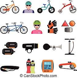iconos de bicicletas
