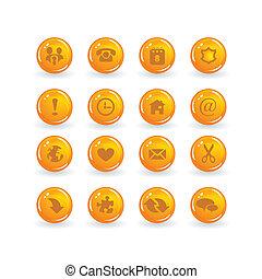 iconos de botones