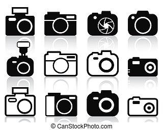 Iconos de cámara listos