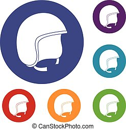 iconos de cascos de seguridad