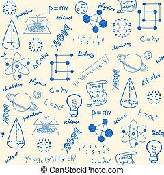 Iconos de ciencia sin costuras