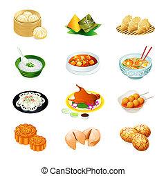 iconos de comida china