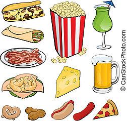 iconos de comida