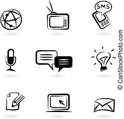 iconos de comunicación 1