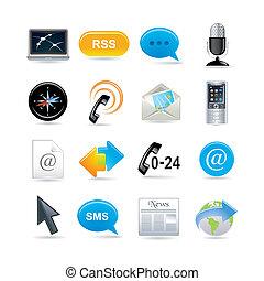 Iconos de comunicación establecidos