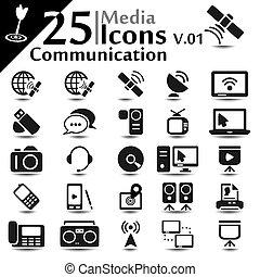 iconos de comunicación v.01