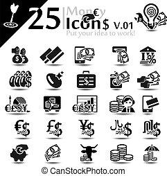 iconos de dinero v.01