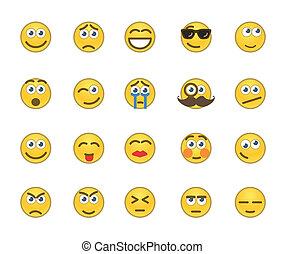 iconos de emoción