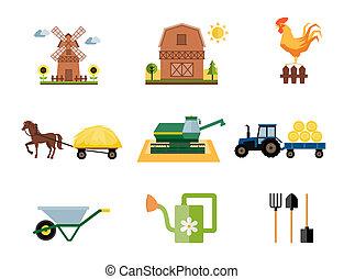 Iconos de granja