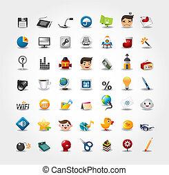 iconos de Internet y sitios web, iconos de Web, iconos fijados