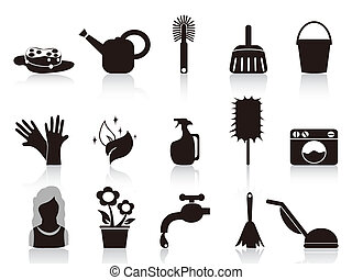 iconos de la casa negra