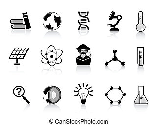 iconos de la ciencia negra