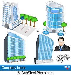 iconos de la compañía