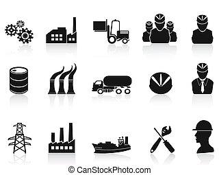 iconos de la industria negra