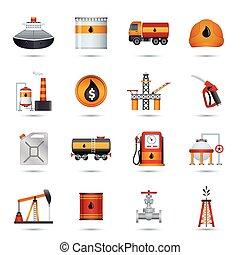 iconos de la industria petrolera