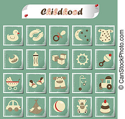 iconos de la infancia