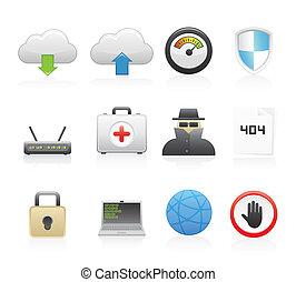iconos de la red
