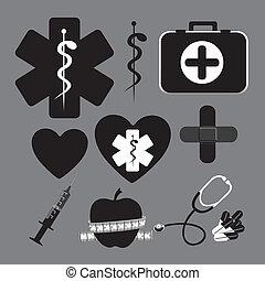 iconos de la salud