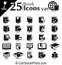 iconos de libros v.01