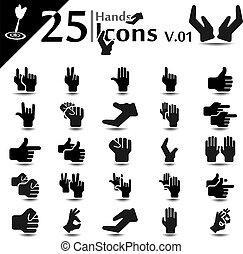 iconos de mano v.01