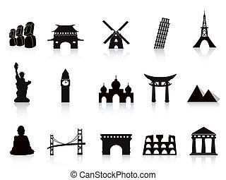 iconos de marca negra