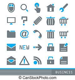 iconos de negocios listos