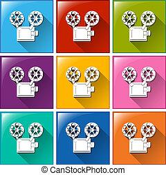 iconos de película