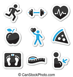 Iconos de salud y aptitud