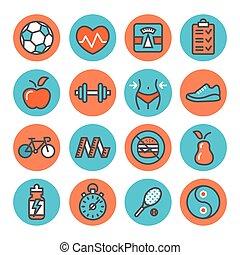 Iconos de salud y salud