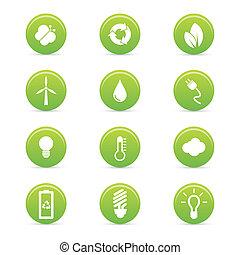Iconos de sostenibilidad