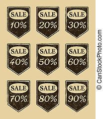iconos de venta de vinagre