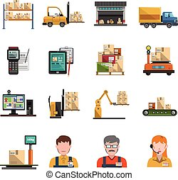 iconos del almacén