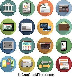 iconos del banco